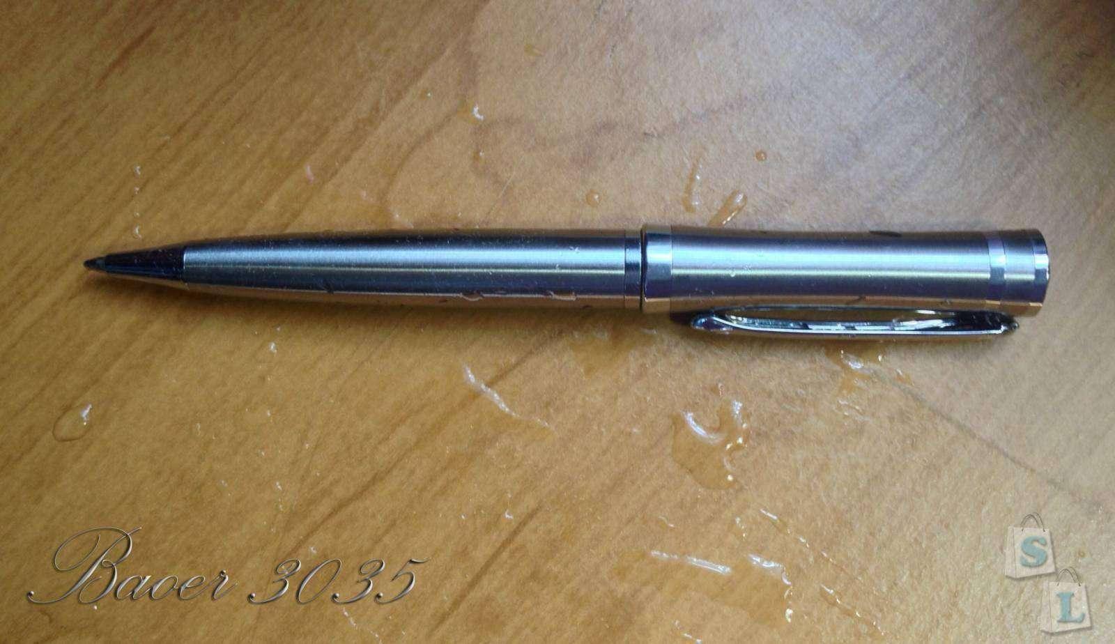 Banggood: Baoer 3035. Стальная шариковая ручка