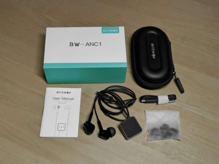 Banggood: BlitzWolf BW-ANC1. Обзор беспроводных наушников с активным шумоподавлением и поддержкой AptX