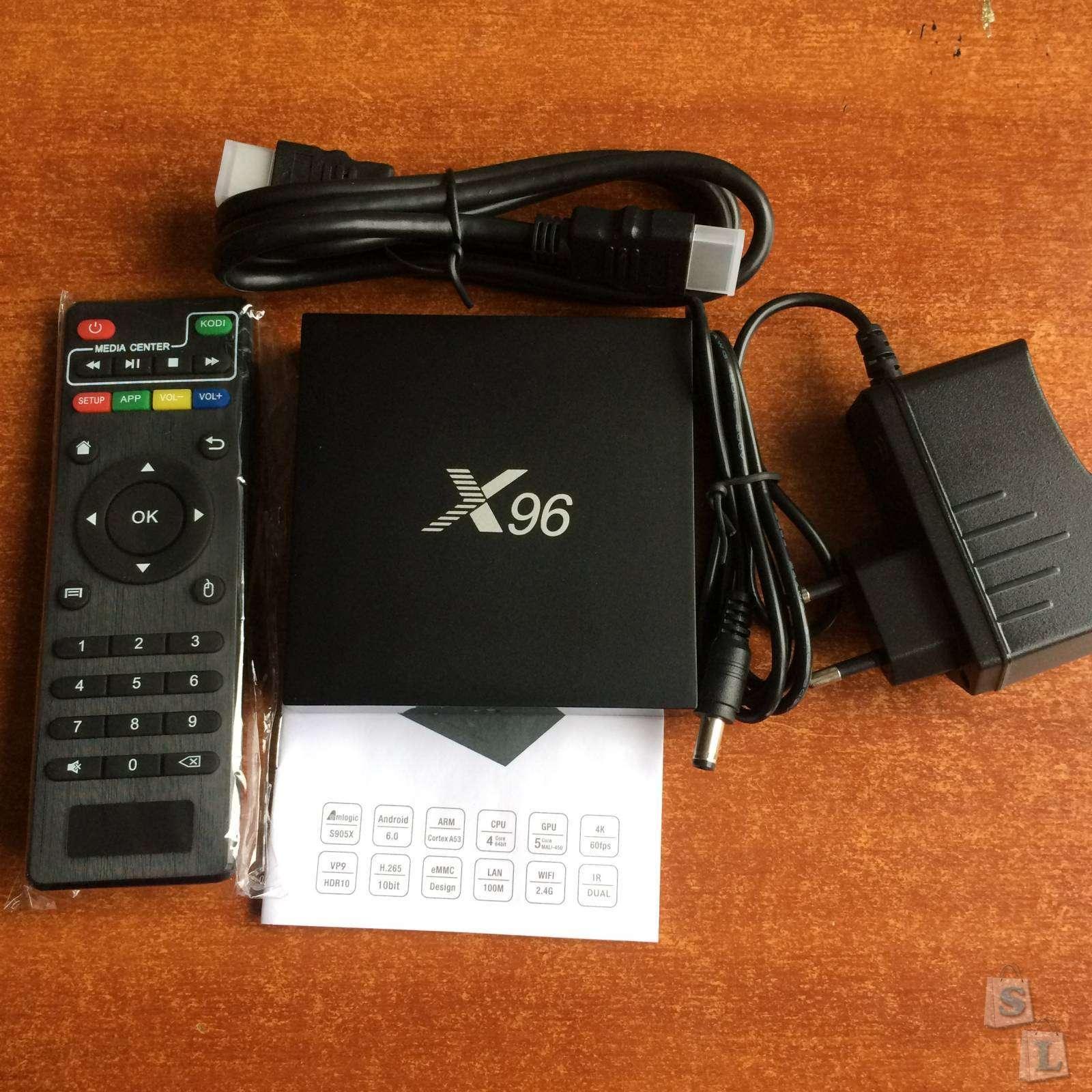 Banggood: ТВ бокс X96 на Amlogic s905x