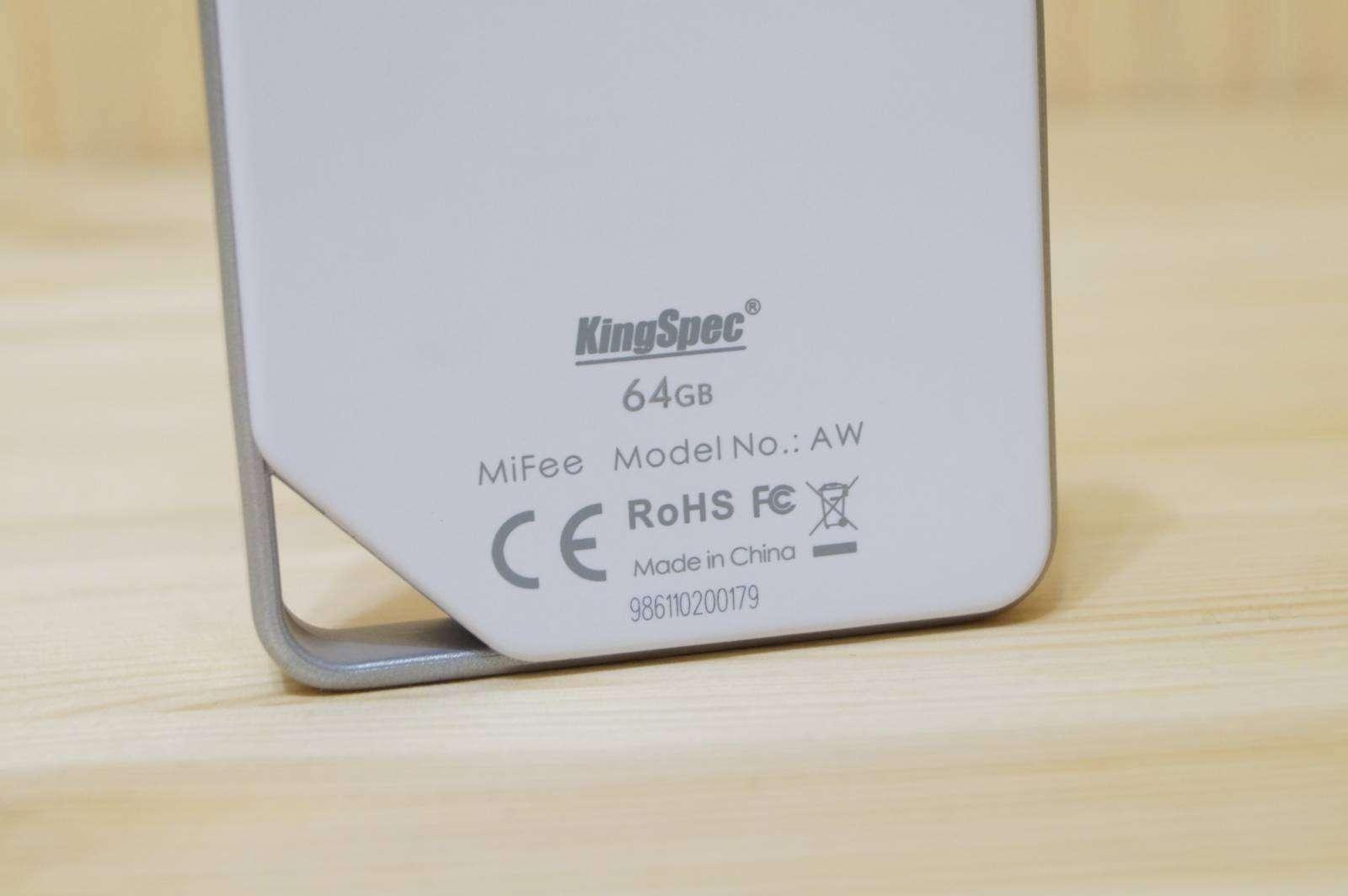 Aliexpress: Беспроводной накопитель KingSpec MiFee AW на 64гб, облако в штанах.