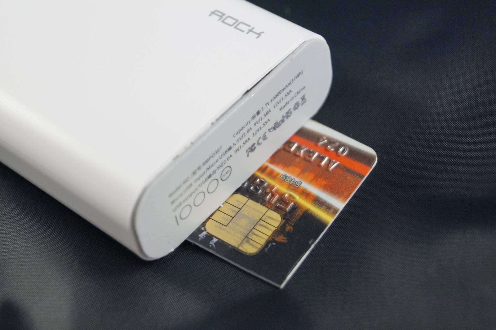 Aliexpress: Power bank ROCK 10000 мАч с поддержкой QC 2.0