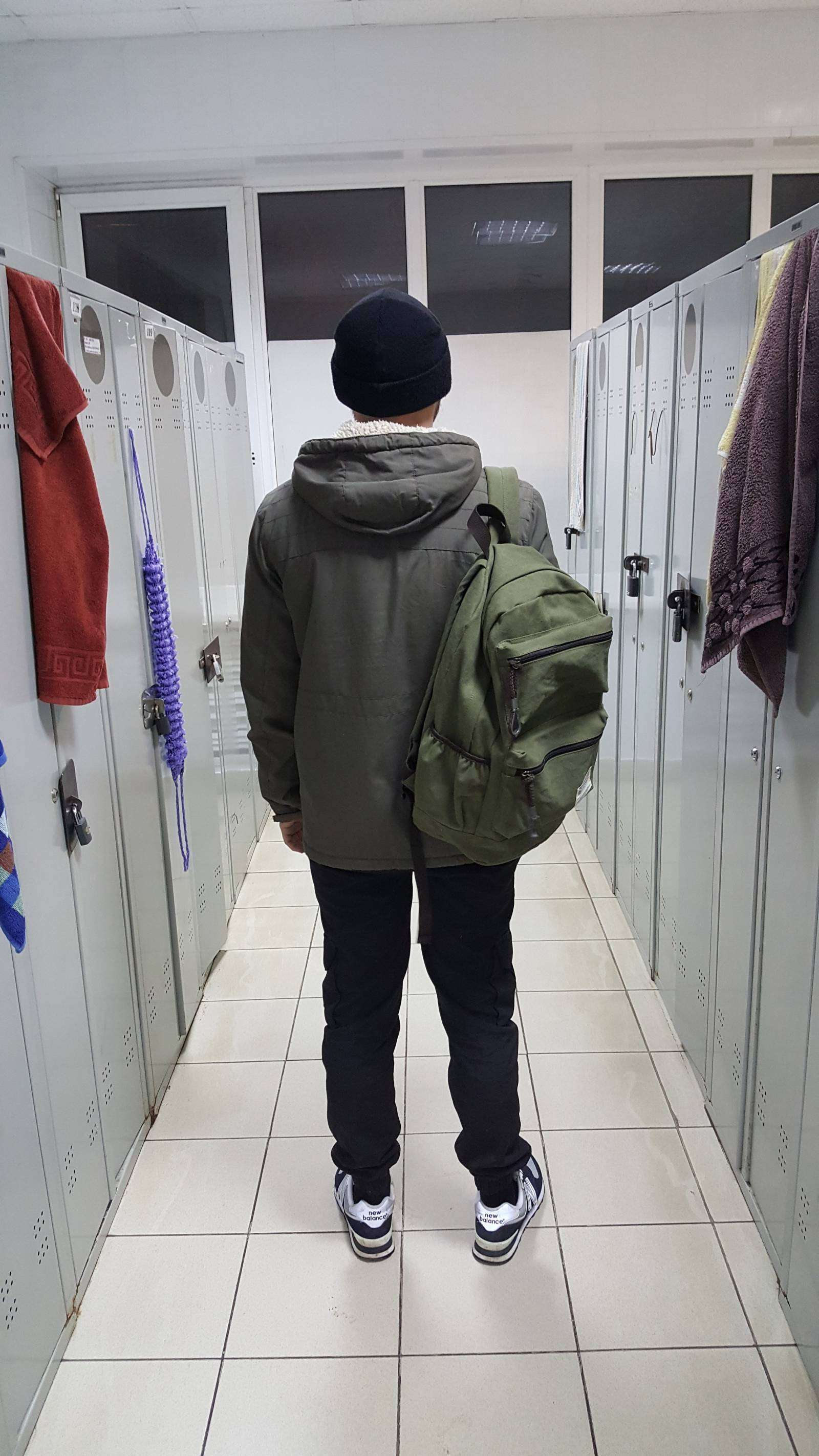 Другие - Китай: Рюкзак из парусины MANJIANGHONG 1385