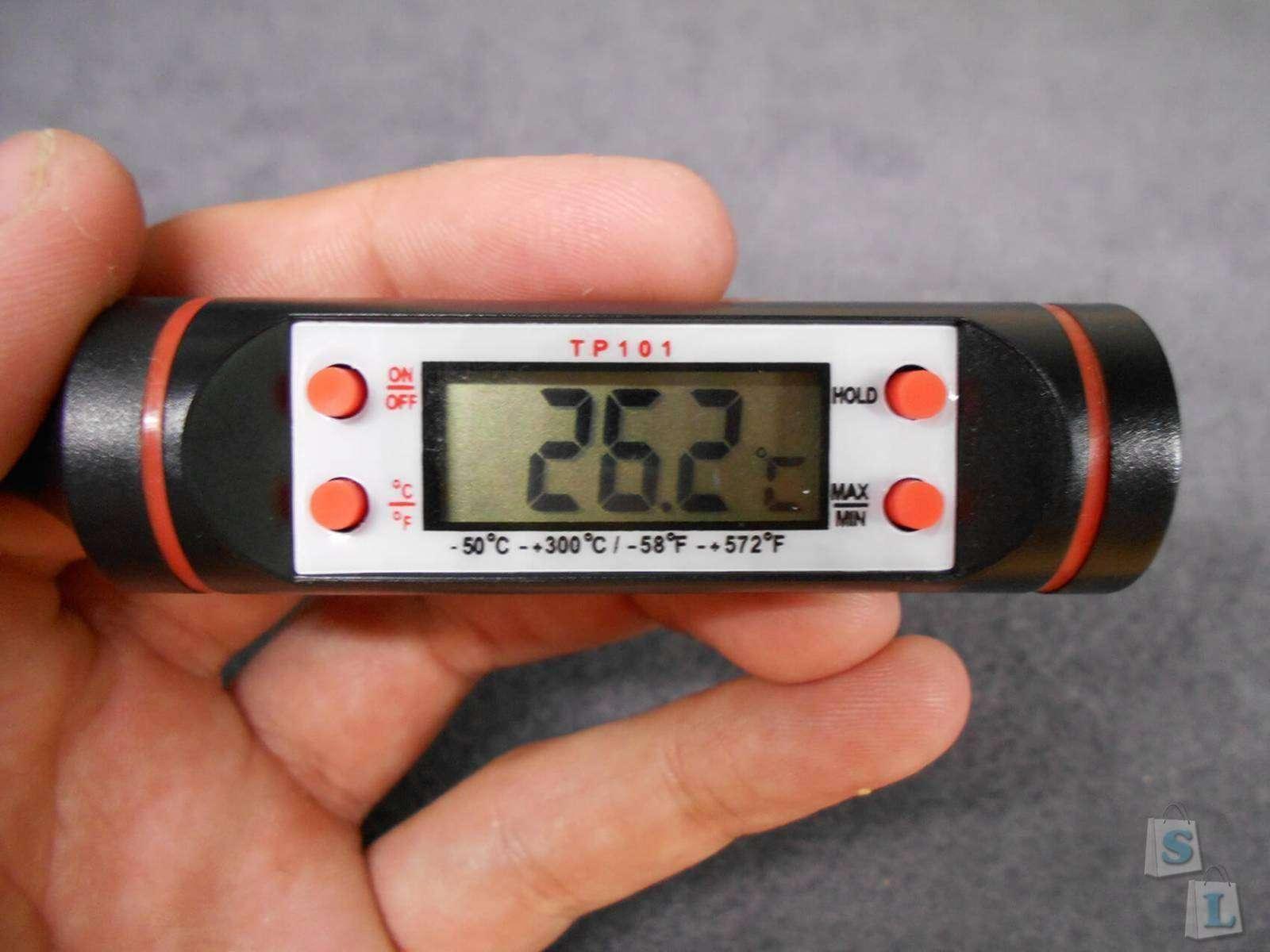 Aliexpress: Термометр электронный (TP101). Универсальный термометр с погрешностью в 1 градус.