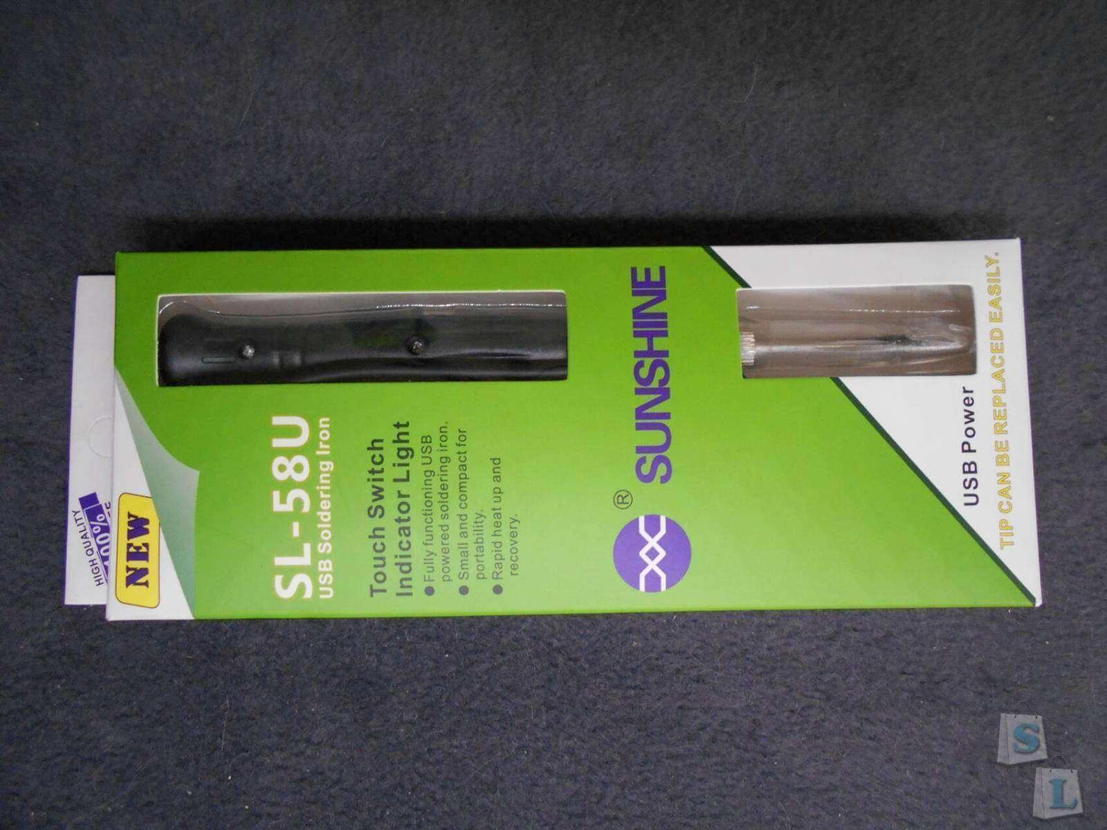 Aliexpress: Компактный мини паяльник SL-58U на 8 ватт питающийся от USB.