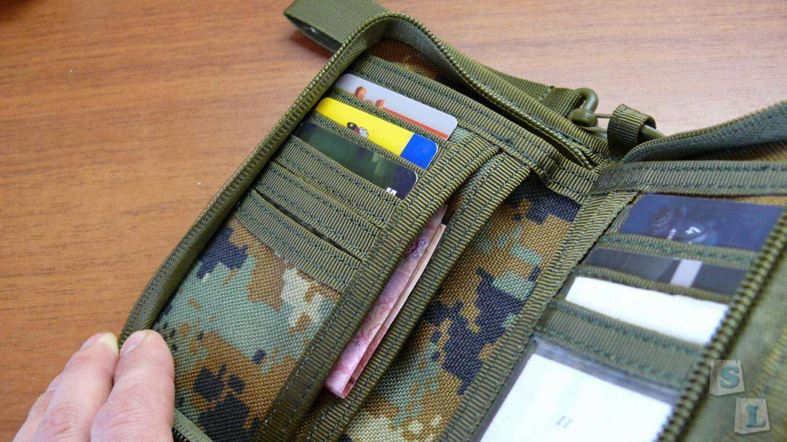 Banggood: Тактическое портмоне для настоящих мужчин