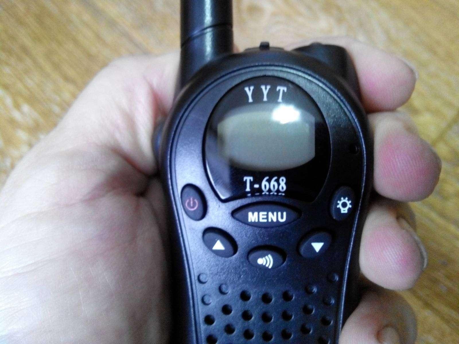 GearBest: Мини-рации YYT T-668 (Walkie Talkie)
