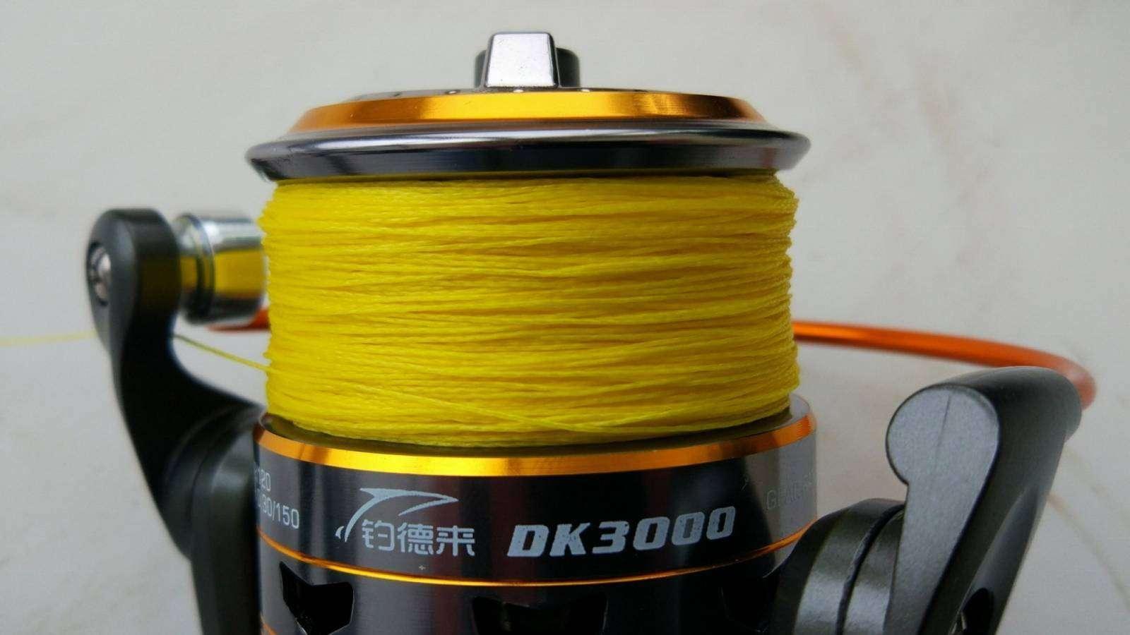 GearBest: Рыболовная катушка DIAODELAI DK-3000 11 Ball