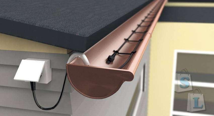 Aliexpress: Нагревательный кабель  (для внешнего применения)