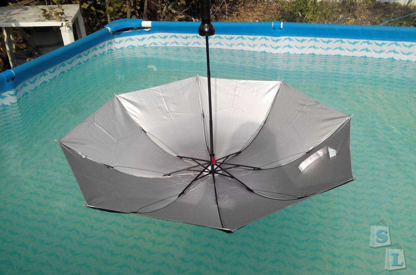 Banggood: Недорогая копия дизайнерского японского зонта Is.a.Brella