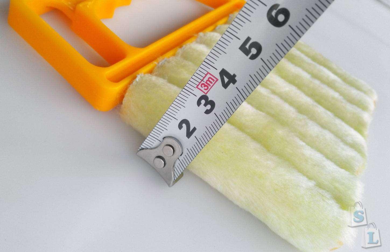 Banggood: Щетка для очистки жалюзи и всякого рода решеток
