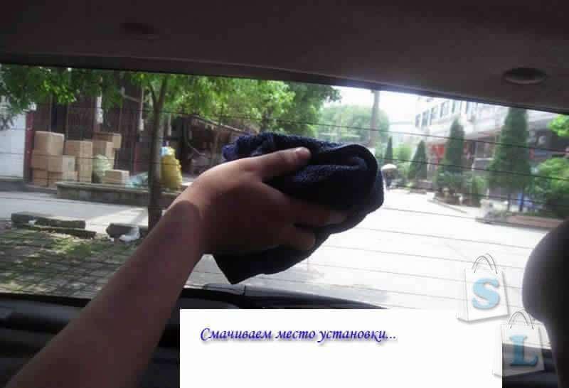 Banggood: Помощь при парковке и движении задним ходом на автомобиле - Линза Френеля