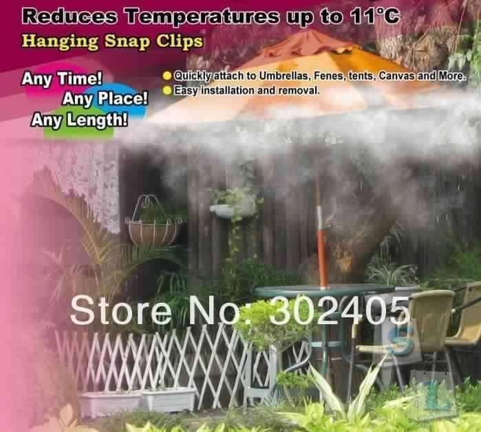 Aliexpress: Система искусственного тумана для 'уличного охлаждения'