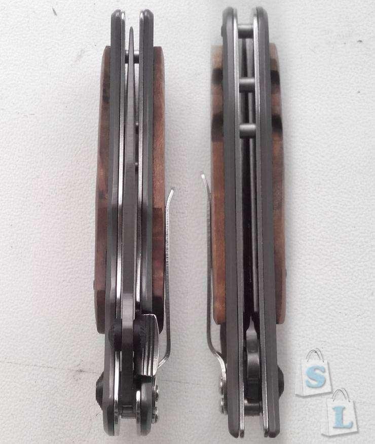 Ebay: Складной нож Браунинг 339 (обработка под дамасскую сталь)