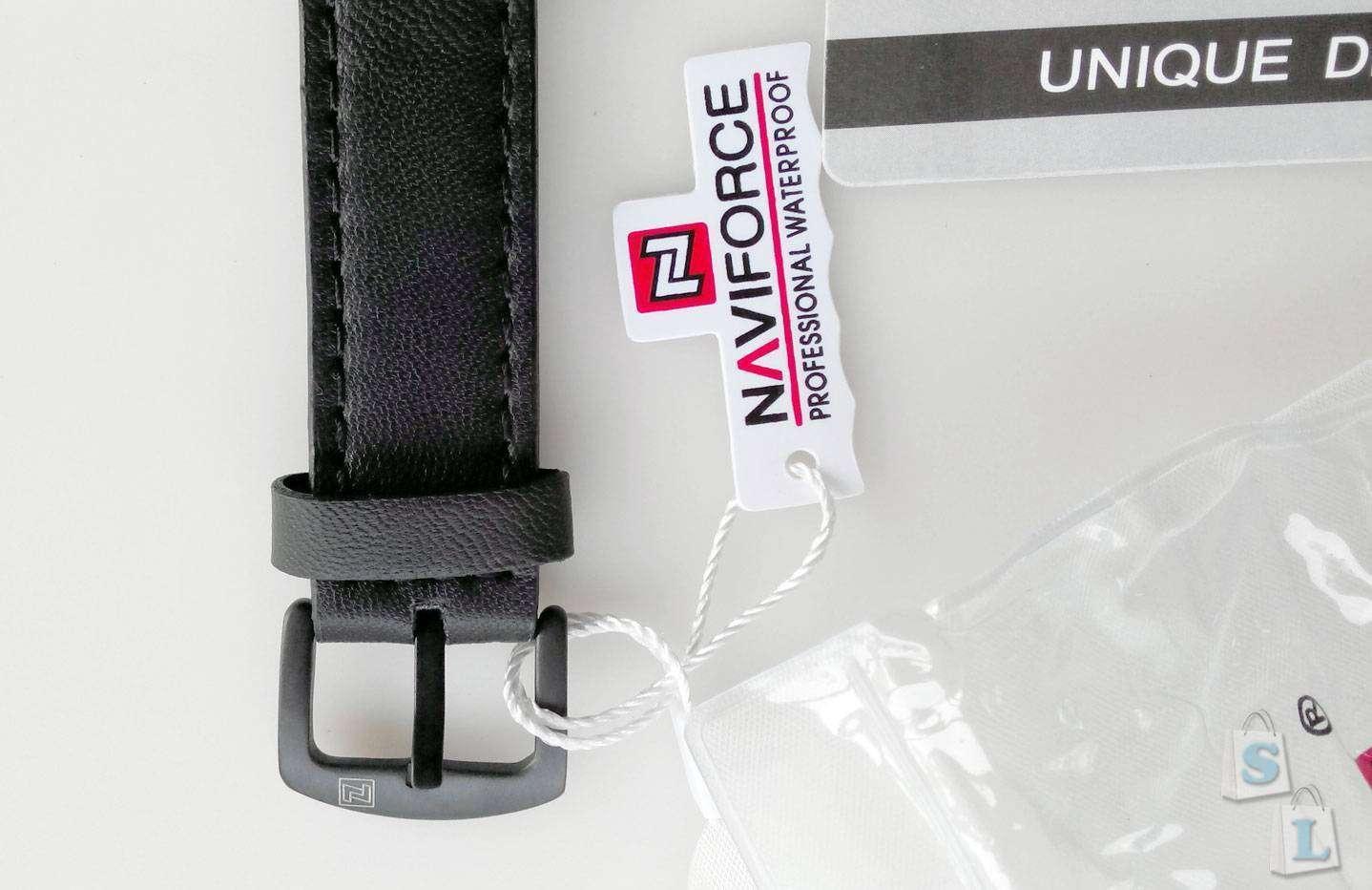 Banggood: Мужские наручные часы Naviforce NF9061 - заявка на качество