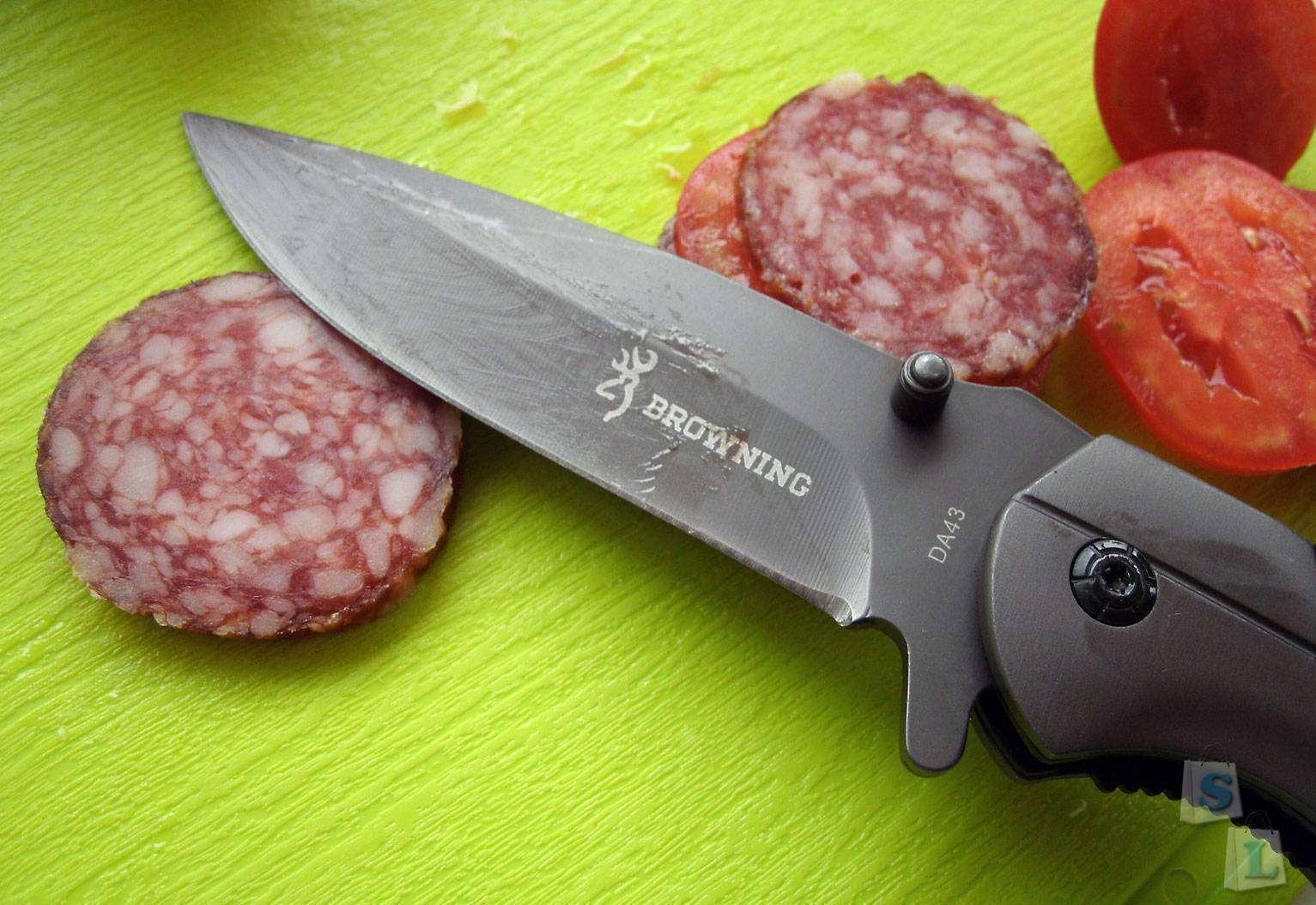 Aliexpress: Складной нож - BROWNING DA43