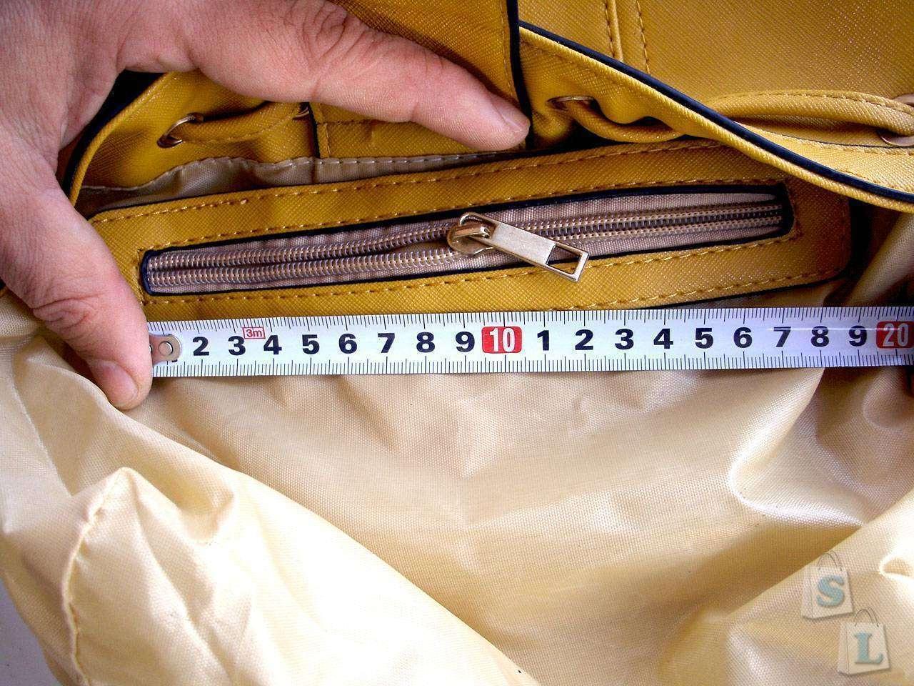 Banggood: Женская сумка с 'кошельком' снаружи