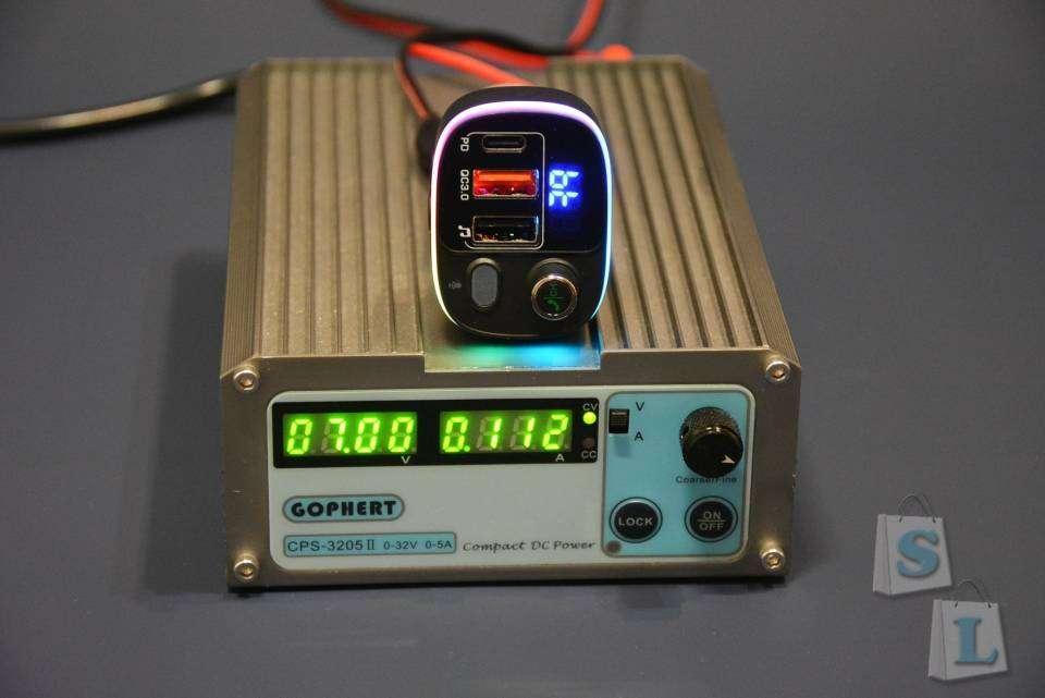Banggood: Расширяем функционал автомагнитолы. Зарядка-FM трансмиттер BlitzWolf