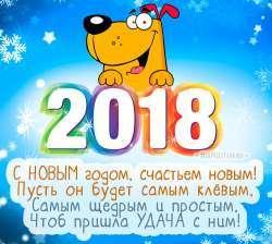 Поздравляем с наступившим 2018 годом !