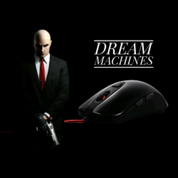 Обзор игровой мыши Dream Machines DM1 Pro S с сенсором PMW3360 12000 DPI, а так же коврика DM PAD L