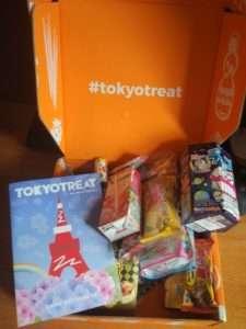 Премиум бокс японских снеков от TokyoTreat (Июнь)