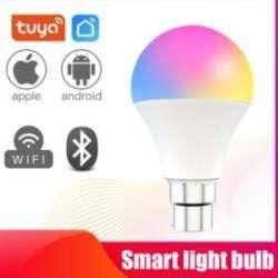 Смарт Wifi лампочка 9W RGBCW - теперь даже лампы умные