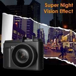Крохотный видеорегистратор Vantrue N1 Pro с очень приличным функционалом.