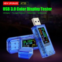 USB тестер RD AT35 USB 3,0 - проста простотой и QC