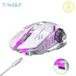 Беспроводная мышь с аккумулятором T-Wolf Q13