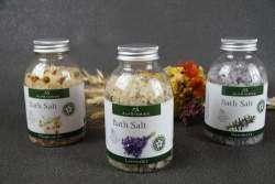 Обзор- отзыв о соли для ванн от ТМ 'Alpstories' (Альпсторис) с ромашкой, лавандой и розмарином