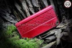 BOLAS - BRODERI кожаный женский кошелек ручной работы от украинских мастеров