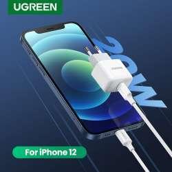 Маленькая зарядка Ugreen Mini PD. Быстрые протоколы и 20 Вт мощности