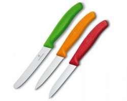 Обзор набора из 3 ножей VICTORINOX 6.7116.32 - идеальные кухонники для ленивых