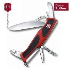 Обзор ножа VICTORINOX RANGERGRIP 61 0.9553.MC - легкий кемпинговый многопредметник