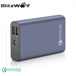 Внешний аккумулятор Blitzwolf BW-P3 10000 mAh 18 Вт QC3.0