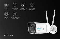 Обзор Super HD IP камеры с оптическим зумом 4Х и сенсором 5 МП - Reolink RLC-511W
