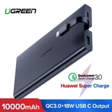 Powerbank Ugreen 10000 mAh c Quick Charge 3.0