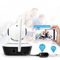 Поворотная камера IMIEYE 720р с датчиками температуры/влаги - зачатки умного дома за 20-25 баксов
