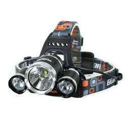 Наш первый налобный фонарь Boruit RJ-3000. Вполне себе качественно