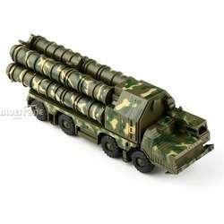 Не надо стесняться своих комплексов! (сборная масштабная модель пусковой установки ЗРК С-300)