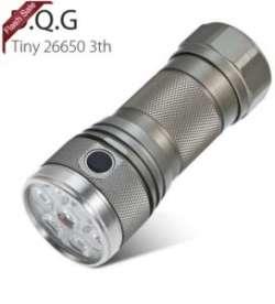 DQG Tiny - 'крошечный' EDC фонарь под 26 650