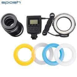Splash RF-550D - кольцевая фотовспышка для макросъемки.