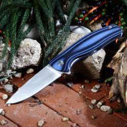 Китайская копия ножа Широгоров Ф3 или сказ о Синем полосатике