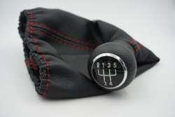 Рукоятка рычага коробки передач с обшивкой, для VW Golf 3, Vento и T4.