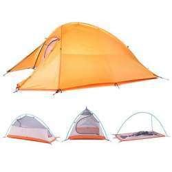 Ультралегкая палатка Naturehike Cloud Up 2, титановая горелка BRS-3000T и кастрюля Keith Ti3209