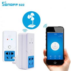 Управляемый по Wi-Fi smart-переключатель SONOFFS22 для мониторинга температуры и влажности