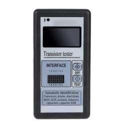 Multi-functional LCD Transistor Tester Capacitance ESR LCR Meter. Прибор начинающего радиолюбителя