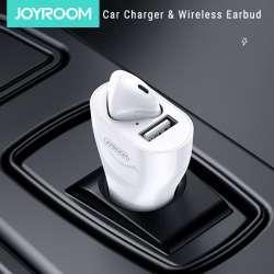 Автомобильное зарядное устройство с гарнитурой Joyroom JR-CP1