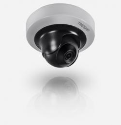 Купольная поворотная видеокамера TrendNet TV-IP410PI