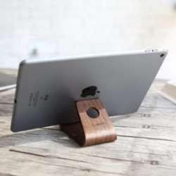 Условно деревянная подставка под телефон/планшет или будь попроще