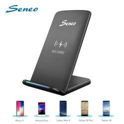 Беспроводное зарядное устройство Seneo с поддержкой технологии Fast Charge